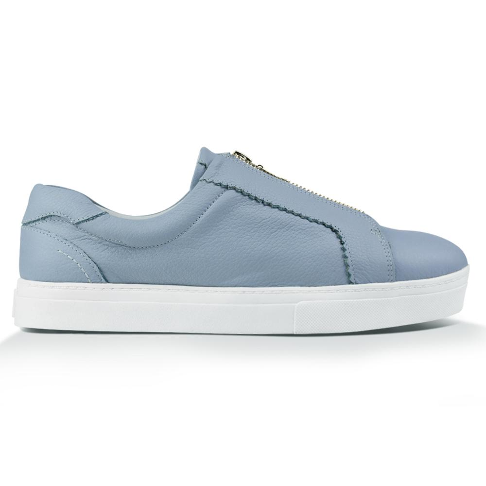 Tênis Penny^^ - Couro Floater Baby Blue