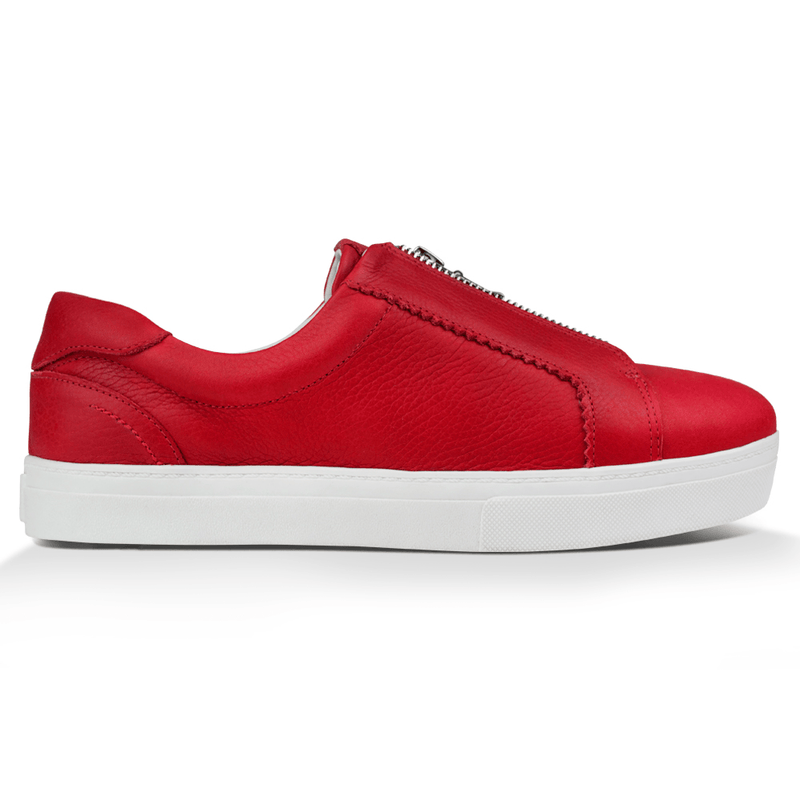 Tênis Penny^^ - Couro Floater Deep Red