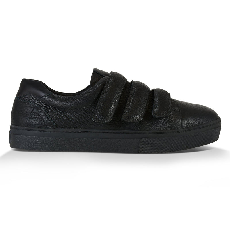 Tênis Velcro Bri^^ - Couro Floater ALL Black
