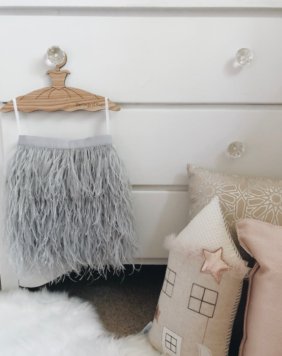 Ostrich Feather Skirts