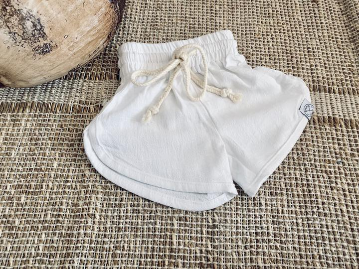 Fresh Linen Shorties - White