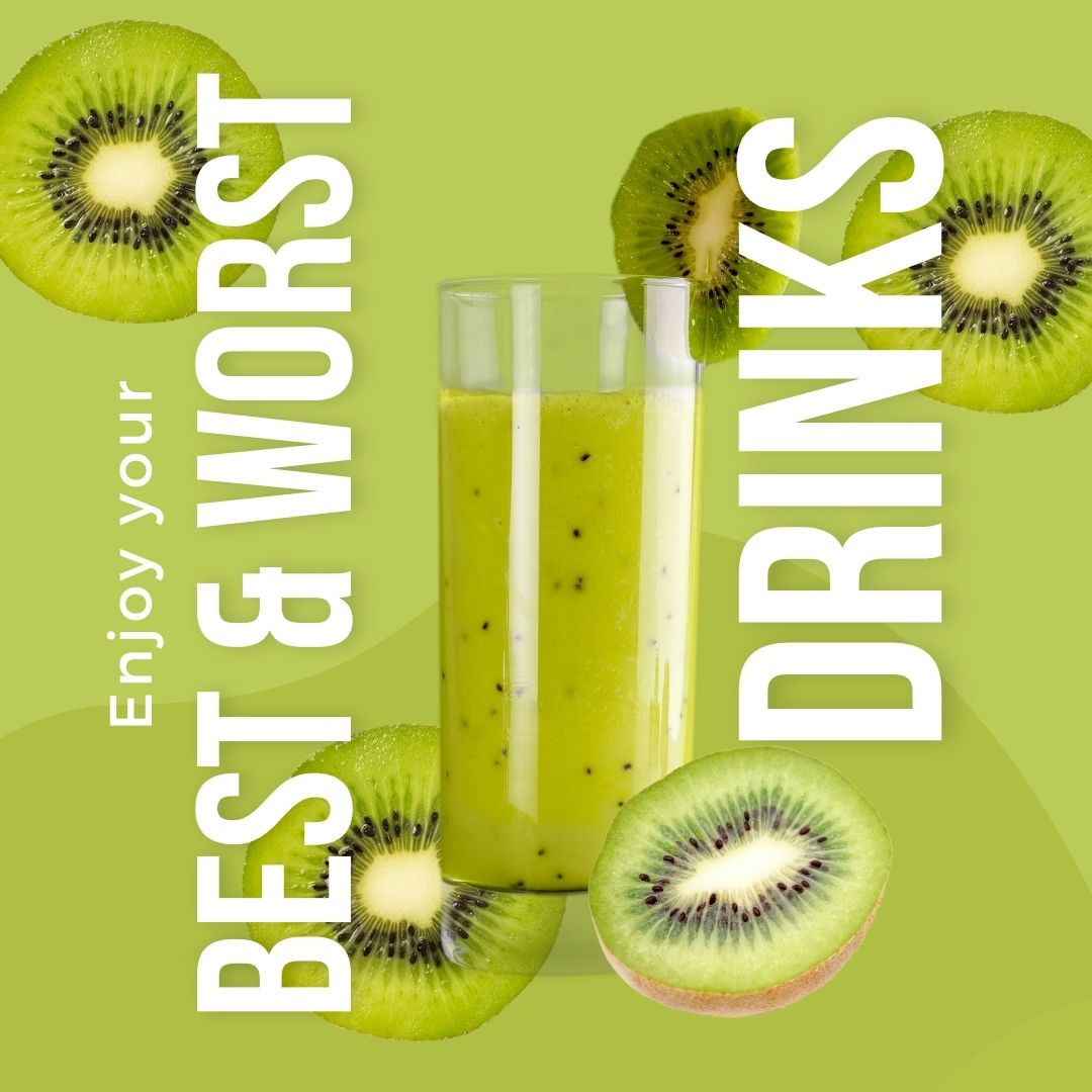 Best and Worst Drinks for Your Health