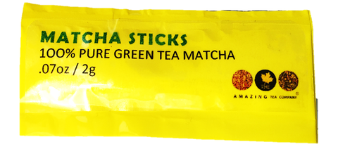 matcha sticks the amazing tea company