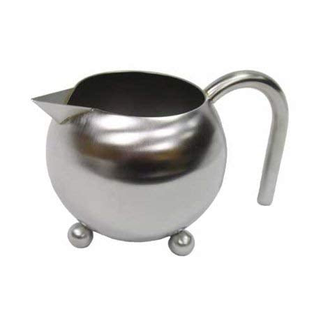 Milk | Creamer and Sugar Bowl - Stainless Steel - The Amazing Tea Company