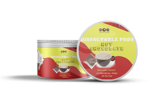 Hot Chocolate Dissolvable Pods - The Amazing Tea Company