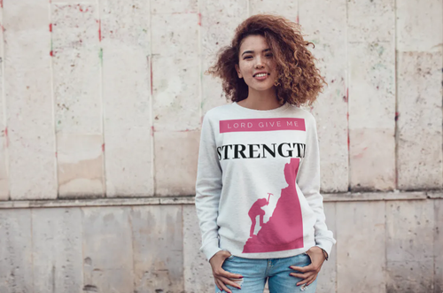 Z- Lord Give Me Strength Sweatshirt - The Amazing Tea Company