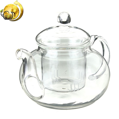 Glass Infuser Teapot - The Amazing Tea Company