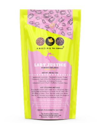 Lady Justice - Women's Balance Tea - The Amazing Tea Company