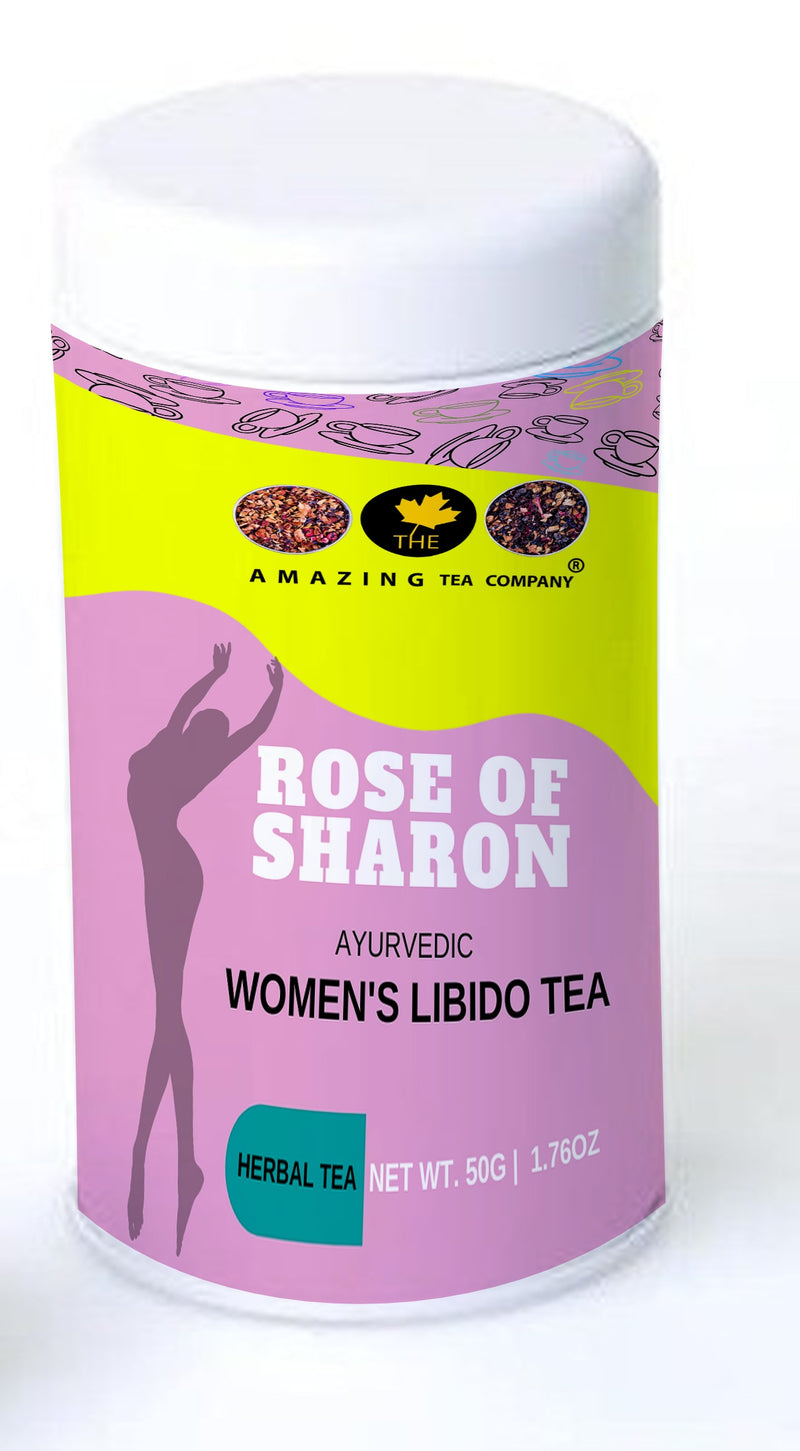 Rose of Sharon - Women's Libido Tea - The Amazing Tea Company