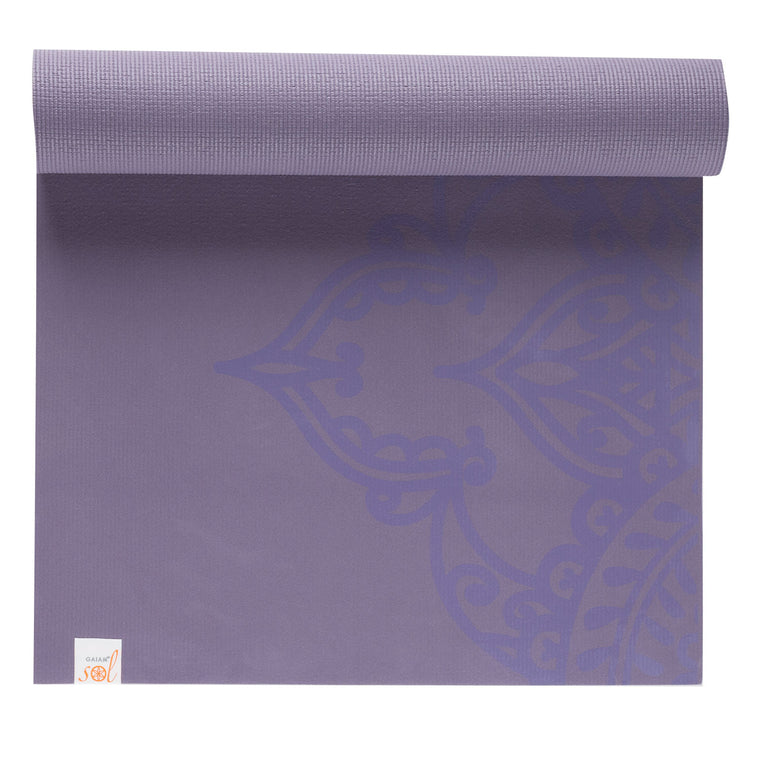 GAIAM Sticky Grip Yoga Mat Reversible 5 MM