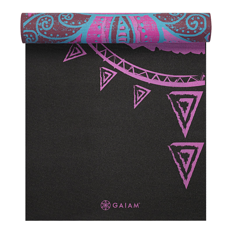 GAIAM Premium Reversible Yoga Mat 5 mm