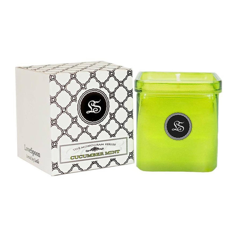 CUCUMBER MINT SOY CANDLE