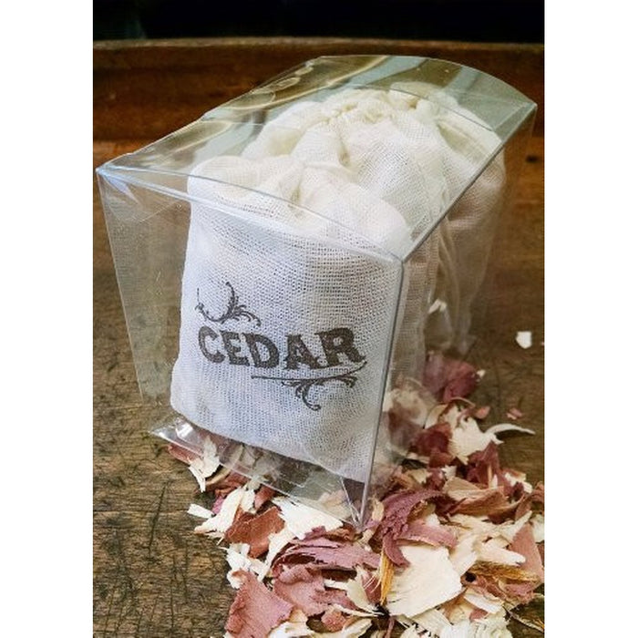 Cedar Sachet - 3 Pack for Closet, garment bag or Drawer