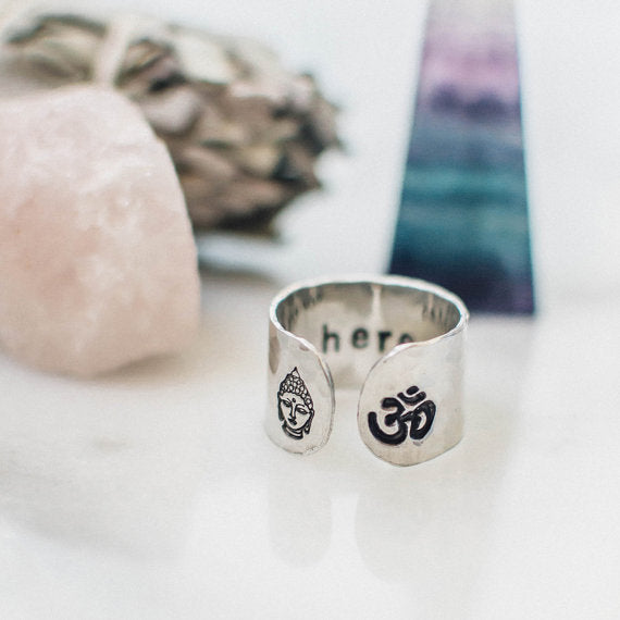 Make a statement on your hand and set an intention in your heart with th...