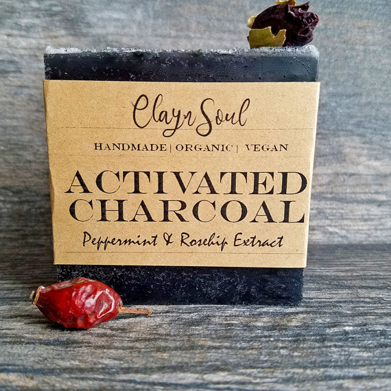 Activated Charcoal & Rosehip Soap
