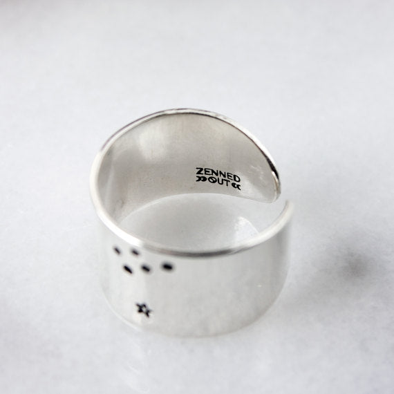 Capricorn Constellation Ring.