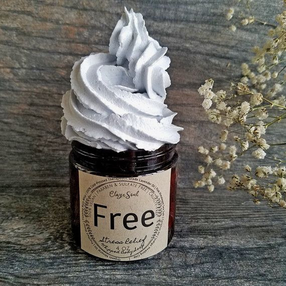 Free Stress Relief Whipped Soap