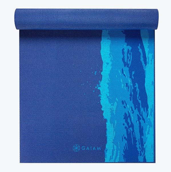 GAIAM - PREMIUM OCEANSCAPE YOGA MAT (5MM)