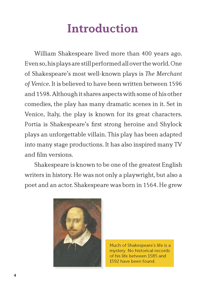 EF Classic Readers Level 11, Book 10: The Merchant of Venice