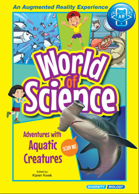 Adventures with Aquatic Creatures(World of Science Comics)