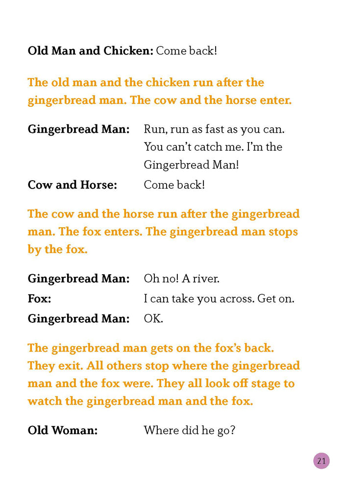 EF Classic Readers Level 2, Book 11: The Gingerbread Man