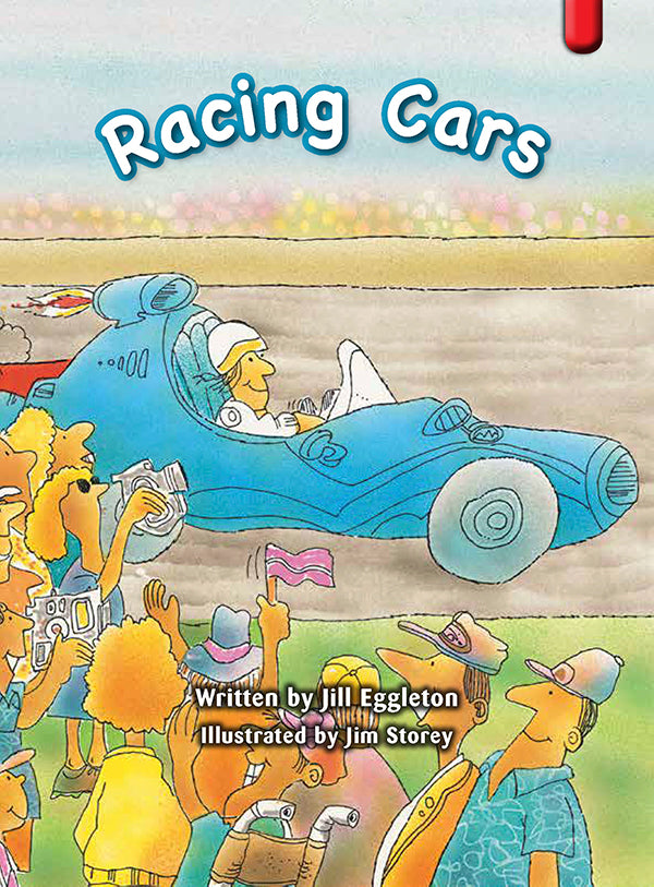 Key Links Red (Book 2, Level 3): Racing Cars