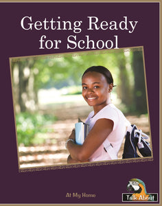 TA - At My Home: Getting Ready for School
