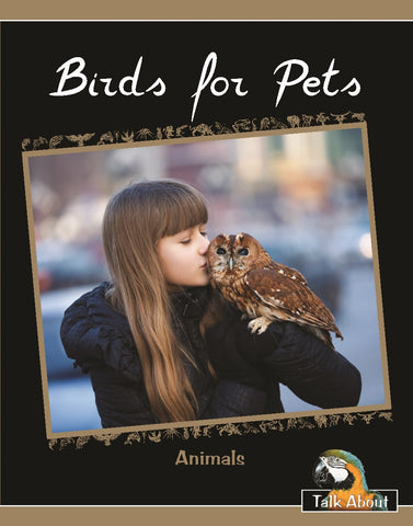 TA - Animals: Birds for Pets