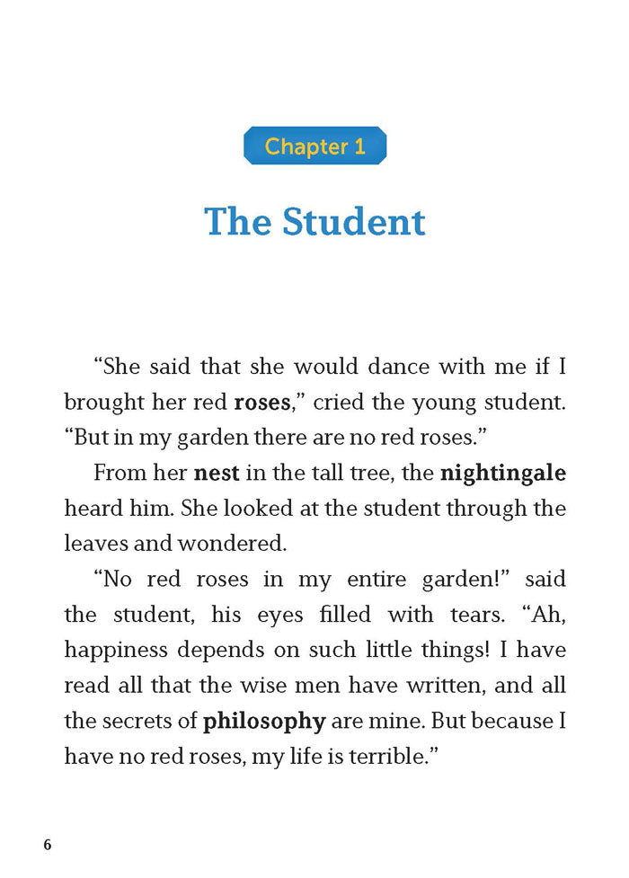 EF Classic Readers Level 6, Book 3: The Nightingale and the Rose