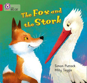 Collins Big Cat Red 2A: The Fox and the Stork