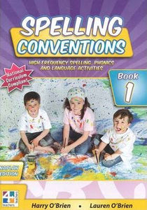 Spelling Conventions Book 1(1st Ed.)