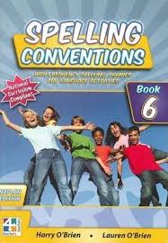 Spelling Conventions Book 6(1st Ed.)