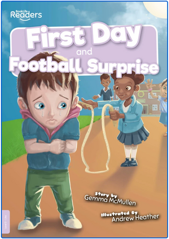 BookLife Readers - Lilac: First Day/Football Surprise
