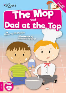 BookLife Readers - Pink: The Mop/Dad at the Top