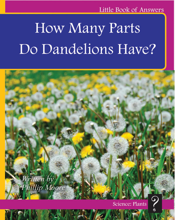 LBA Magenta Level 2: How Many Parts Do Dandelions Have?