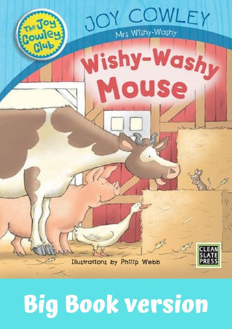 Wishy Washy Mouse (L3) Big Book