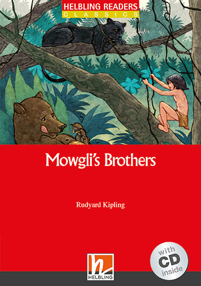 Helbling Red Series-Classic Level 2: Mowgli's Brothers