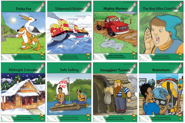 Red Rocket Readers Advanced Fluency Level 2 Fiction Set A
