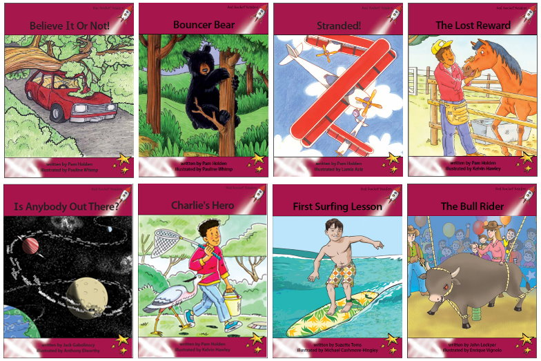 Red Rocket Readers Advanced Fluency Level 3 Fiction Set A