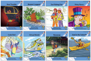 Red Rocket Readers Advanced Fluency Level 4 Fiction Set A