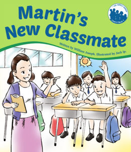 Lee Family Series 2 Book 1: Martin's New Classmate