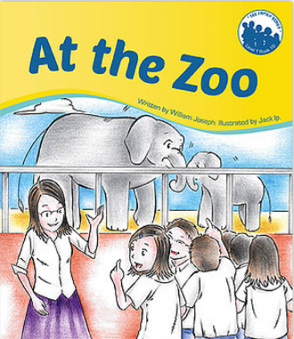 Lee Family Series 1 Book 10: At the Zoo