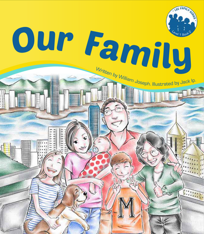 Lee Family Series 1 Book 2: Our Family