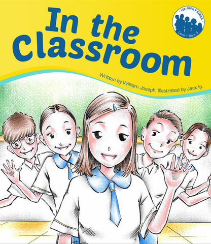 Lee Family Series 1 Book 3: In the Classroom