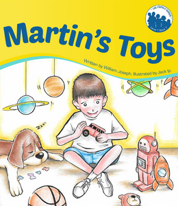 Lee Family Series 1 Book 7: Martin's Toys
