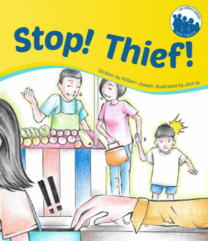 Lee Family Series 1 Book 8: Stop! Thief!