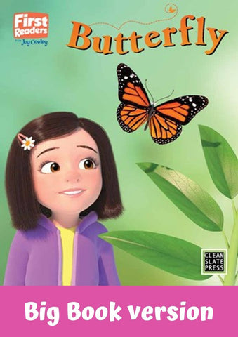 First Readers: Butterfly (L2)Big Book