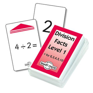 Division Facts (-:- 2): Level 1