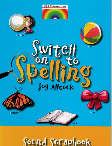 Switch on to Spelling Scrapbook