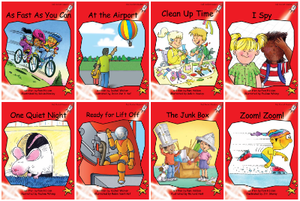 Red Rocket Readers Early Level 1: Fiction Set B